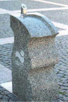 Kalkmann Kontakt Kunst Trinkwasserbrunnen Tb Stein