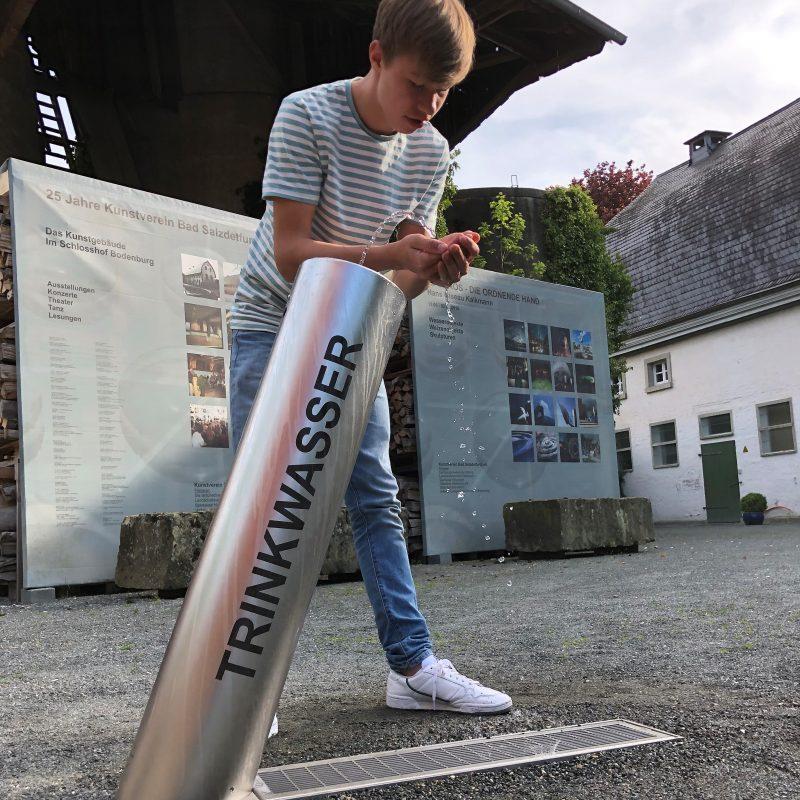 Kalkmann Kontakt Kunst Trinkwasserbrunnen TBs